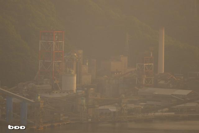 モヤモヤの太平洋セメント土佐工場