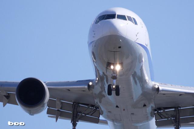 伊丹発の飛行機