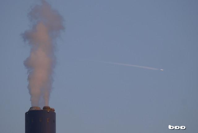 煙突と飛行機