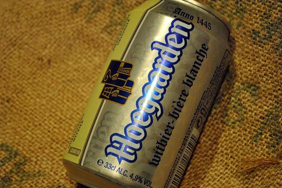 ヒューガルデン缶