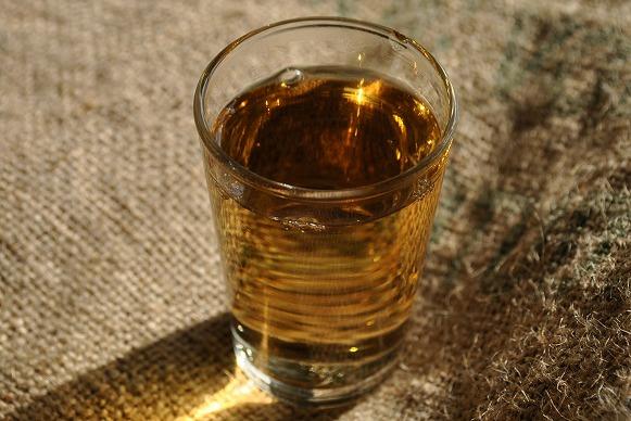 東方美人茶 グラス