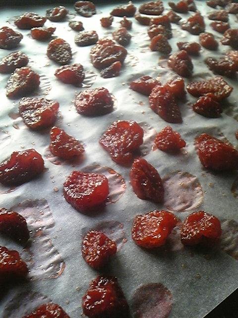 セミドライイチゴ