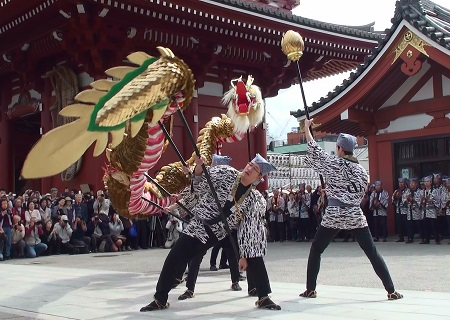 浅草金龍の舞_Asakusa_Kinryū-no-Mai_450x320_Golden Dragon Dance, Senso-ji_Japan_00