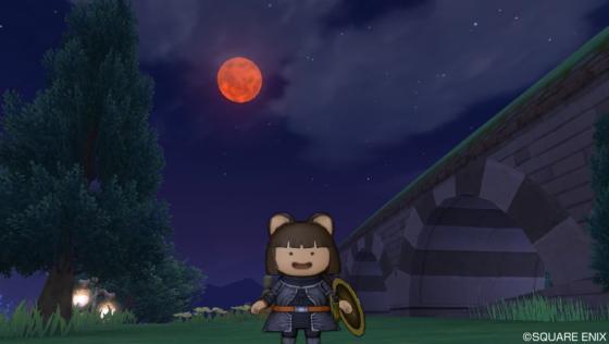 赤き月の夜に