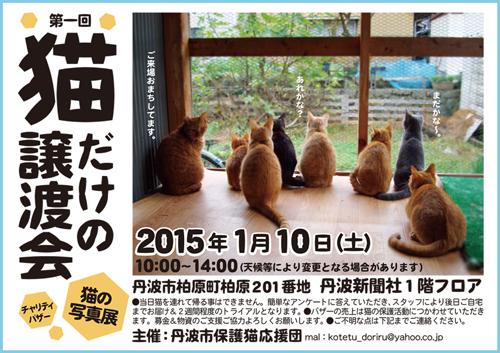 譲渡会2015.1.10