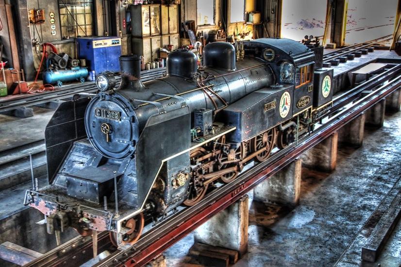 C11型蒸気機関車