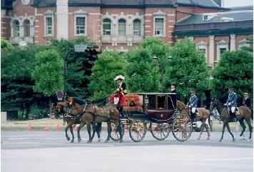 信任状捧呈式儀装馬車
