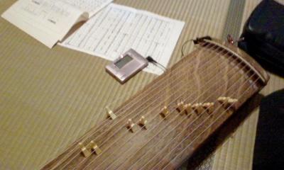 文化琴の調律