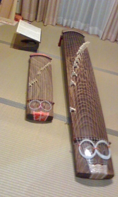文化琴と琴