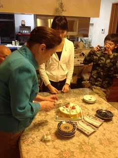 姉の誕生日