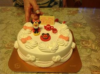 母の日アイスケーキ