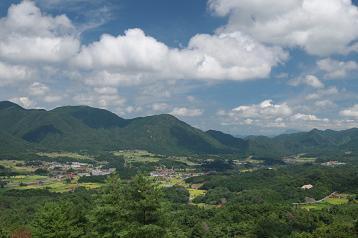 石見町の風景