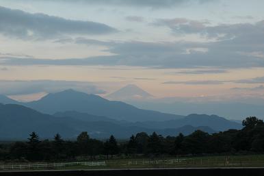 富士山も見えたよ~
