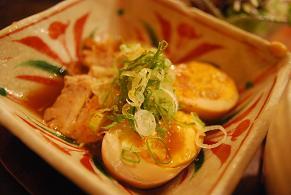 豚角煮と煮タマゴ