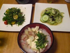 豆腐ゴハン