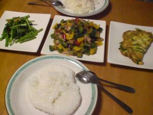 鶏と野菜の炒め他