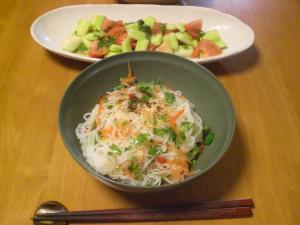 アジア風あえ麺