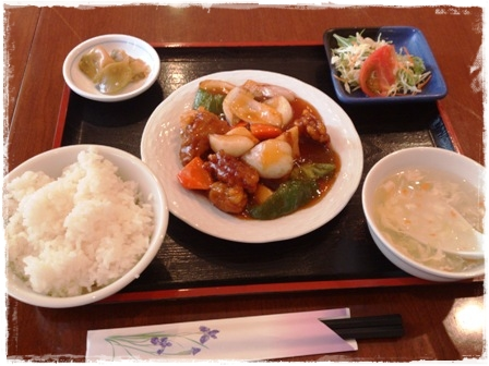 酢豚定食★