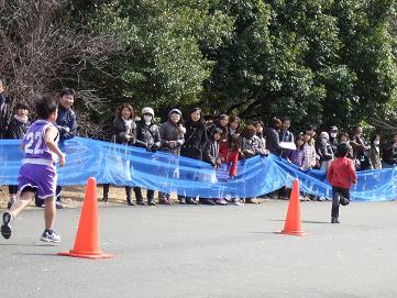 立川マラソン3km・小4