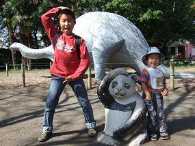 羽村市動物公園(パンダ)