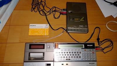 CE-150と接続したところ