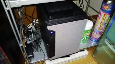 完成したサーバー