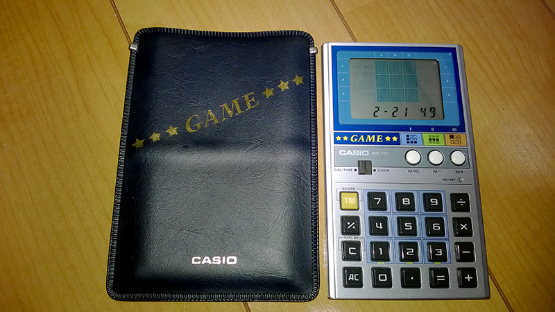 CASIOのゲーム電卓 MG-777 - Kyo...