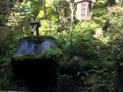 三千院 清浄水