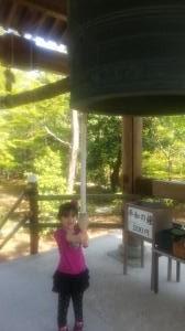 金閣寺 平和の鐘