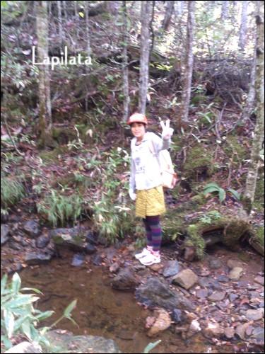 7、小川を見つけて生き物を探す上山①