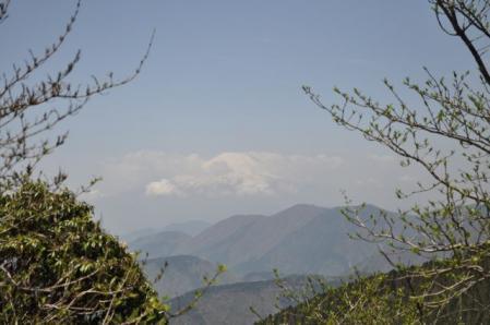 三ノ塔ー二ノ塔からの富士山