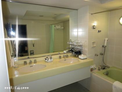 浴室はこんな感じで♪