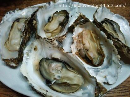 レンチン殻付き牡蠣