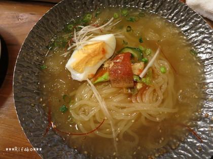 +500円で冷麺