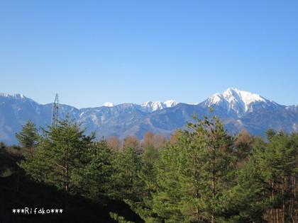 翌朝はむちゃくちゃ寒かったけど~空が綺麗でした!