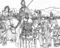 ダキア人の出征