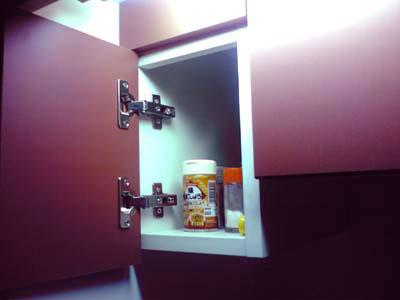 キッチンの小物入れ