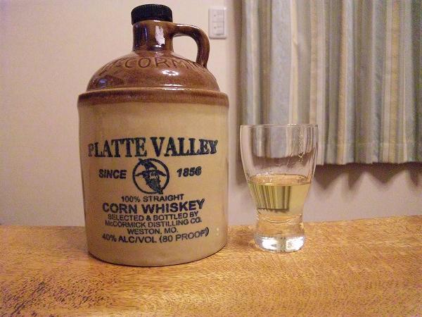 コーン・ウイスキー プラットヴァレー