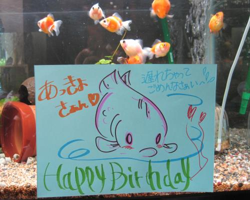 """が数日前に誕生日でした。(*≧∀≦*)""""IMG_1881_convert_20120717073849.jpg"""""""