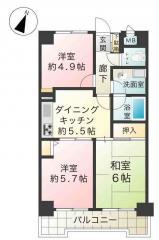 342間取図(NZD用)