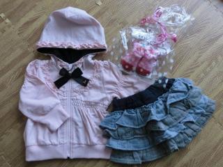 姉からのプレゼント服3
