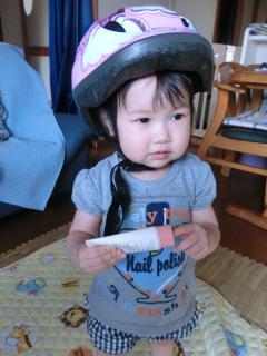 ヘルメットは大丈夫そう