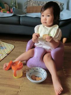 1歳5ヶ月でもバンボ