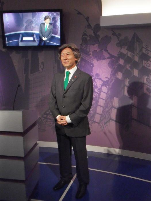 小泉元首相 マダムタッソー