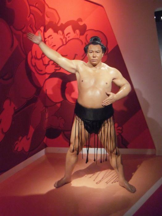 千代の富士 マダムタッソー