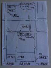LOVE PEACE駐車場地図
