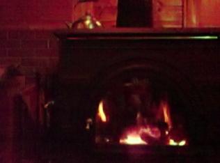 薪ストーブに火が