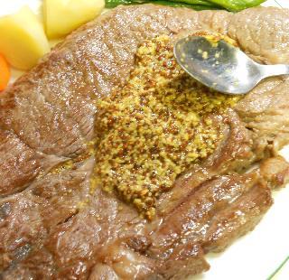 仙台味噌とマスタードのステーキ6