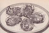 カキの清蒸風図