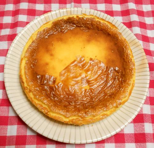 簡単チーズケーキ8